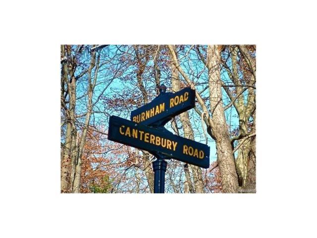 221 Canterbury Road, Bloomfield Hills, MI 48304 (#217074995) :: RE/MAX Classic