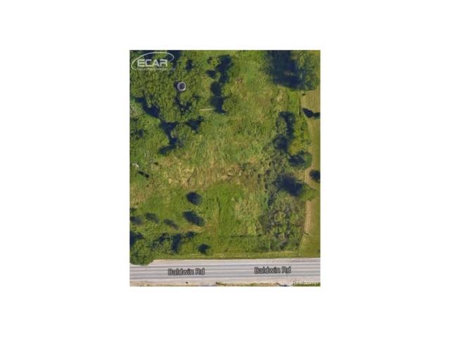 0 Baldwin Road, Mundy Twp, MI 48430 (#217075035) :: The Buckley Jolley Real Estate Team
