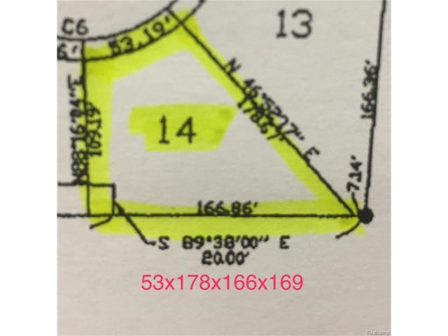 3118 Spruce Drive, Port Huron, MI 48060 (MLS #217089960) :: The Toth Team