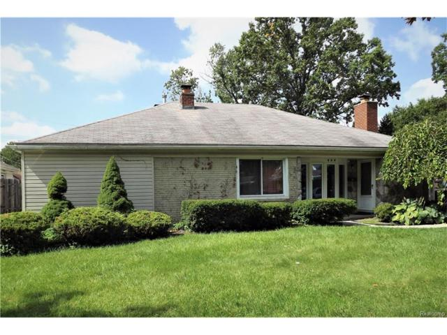 628 S Minerva Avenue, Royal Oak, MI 48067 (#217091885) :: RE/MAX Vision