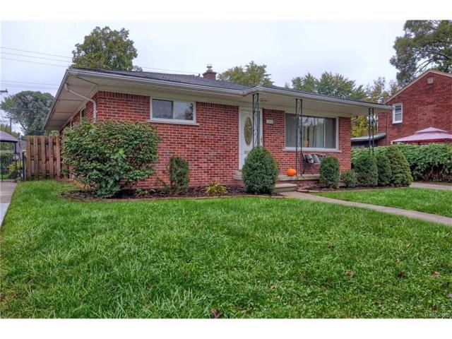 1465 Larkmoor Boulevard, Berkley, MI 48072 (#217092575) :: RE/MAX Vision