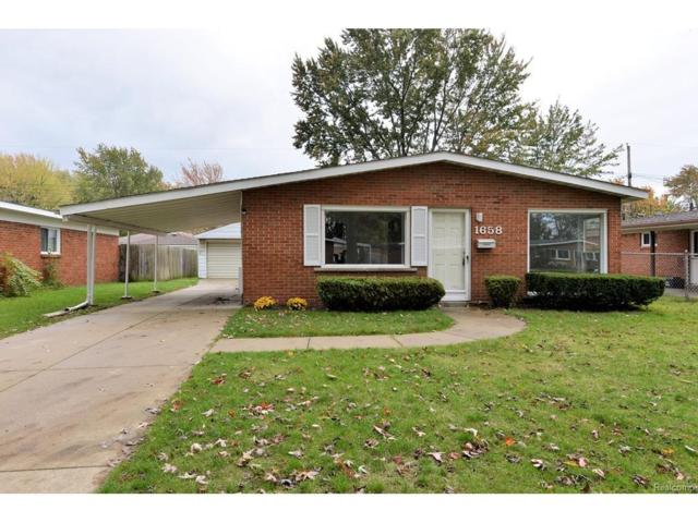1658 Dulong Avenue, Madison Heights, MI 48071 (#217092822) :: RE/MAX Vision