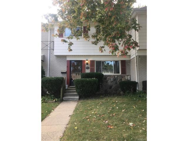 116 S Christine Street, Mount Clemens, MI 48043 (#217093051) :: Simon Thomas Homes