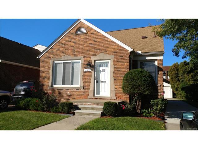 4519 Korte Street, Dearborn, MI 48126 (#217093513) :: RE/MAX Vision