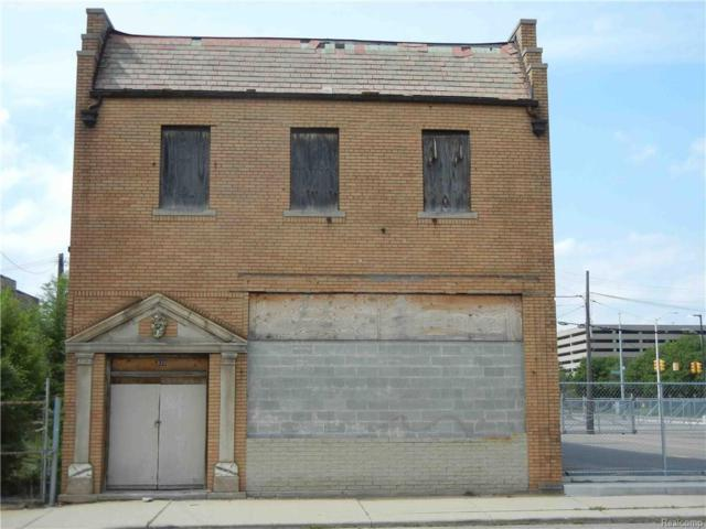 820 W Baltimore Street, Detroit, MI 48202 (#217093697) :: RE/MAX Classic