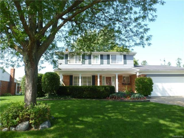2528 Dorfield Drive, Rochester Hills, MI 48307 (#217093803) :: Simon Thomas Homes