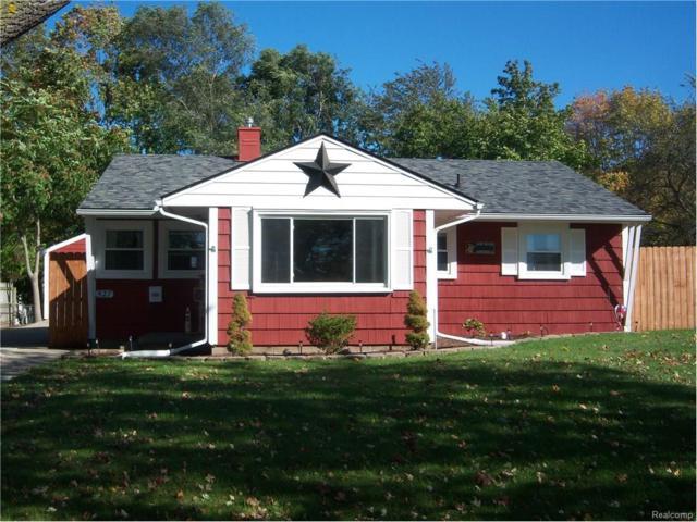 527 S Tompkins Street, Howell, MI 48843 (#217094346) :: The Buckley Jolley Real Estate Team