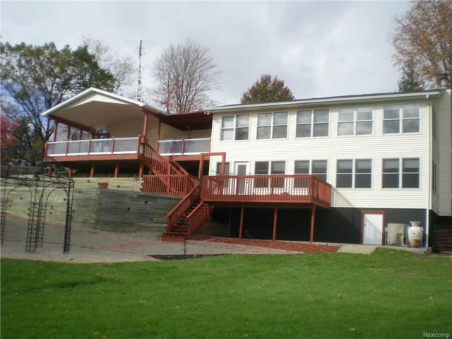 1236 White Lake Road, Henrietta Twp, MI 49272 (MLS #217098129) :: The Toth Team