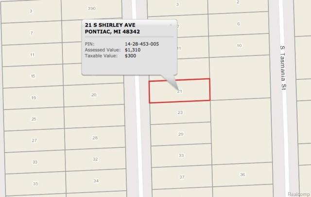 21 S Shirley Street, Pontiac, MI 48342 (#217102174) :: RE/MAX Classic