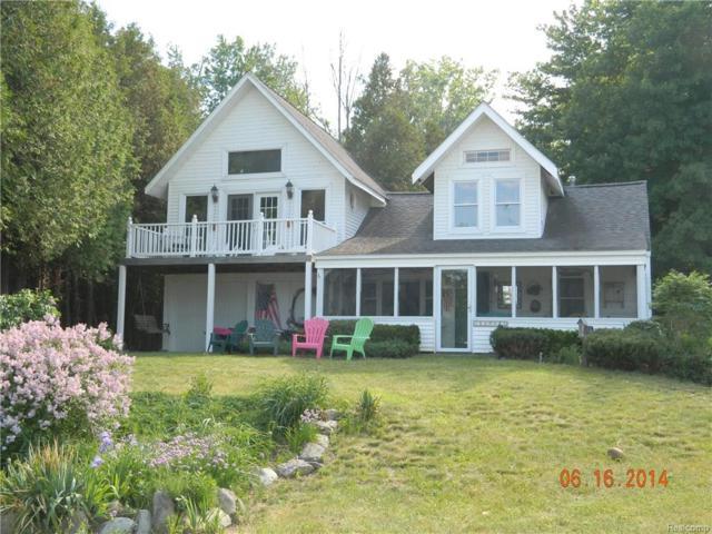 1091 Lakeside Drive NW, Sanilac Twp, MI 48469 (MLS #217102365) :: The Toth Team
