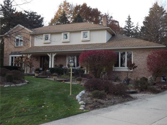 1468 Chestnut Lane, Rochester Hills, MI 48309 (#217102622) :: RE/MAX Nexus