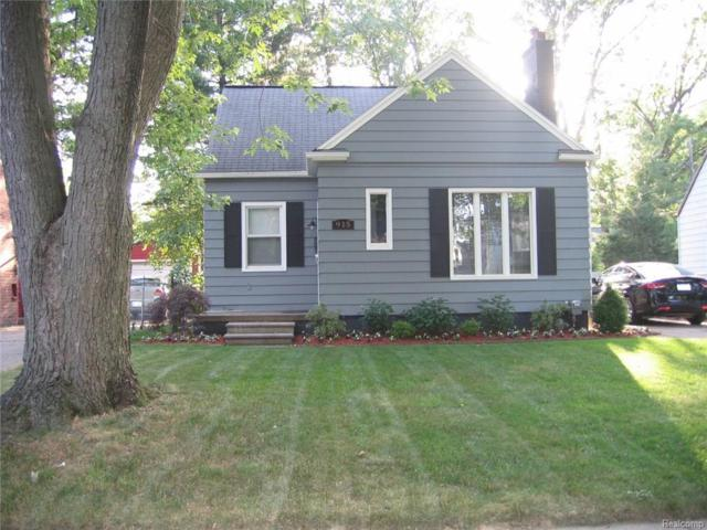 915 N Gainsborough Avenue, Royal Oak, MI 48067 (#217102663) :: RE/MAX Nexus