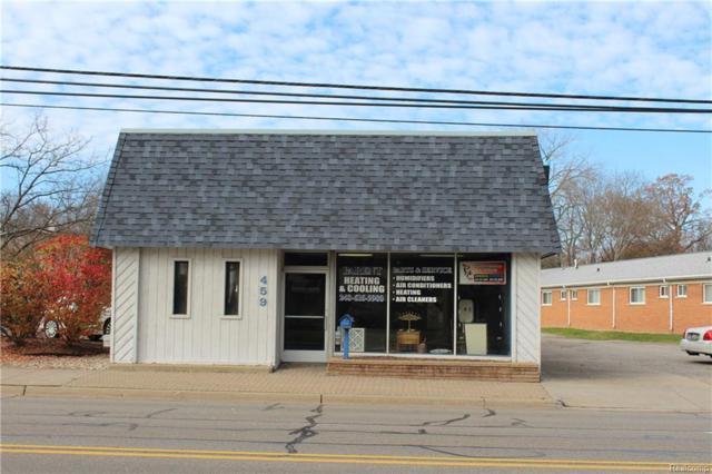 459 N Rochester Road, Clawson, MI 48017 (#217104834) :: RE/MAX Vision