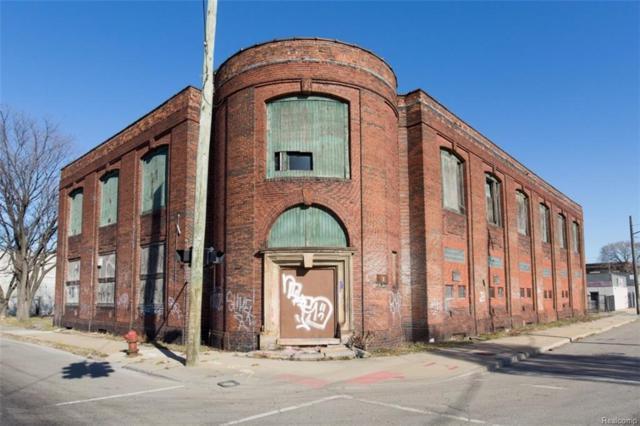 1401 E Milwaukee Street, Detroit, MI 48211 (MLS #217105887) :: The Toth Team