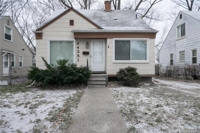 24351 Parklawn Street, Oak Park, MI 48237 (#217107976) :: Metro Detroit Realty Team | eXp Realty LLC