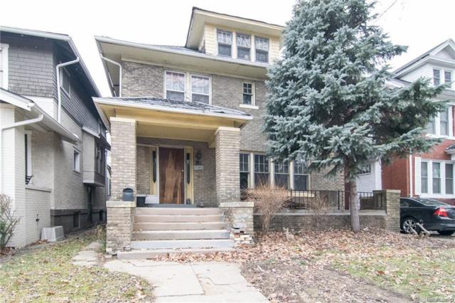1634 Longfellow Street, Detroit, MI 48206 (#217107983) :: Metro Detroit Realty Team | eXp Realty LLC