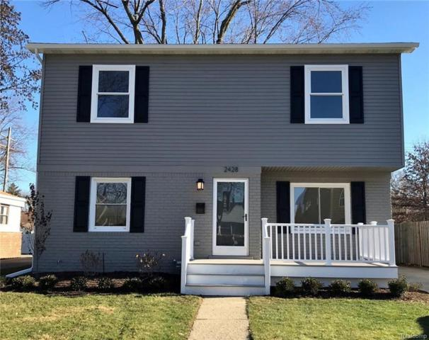 2428 Ellwood Avenue, Berkley, MI 48072 (#217108506) :: RE/MAX Vision