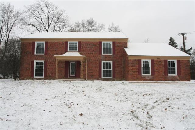 5582 Hobnail Cir, West Bloomfield Twp, MI 48322 (#217108912) :: The Buckley Jolley Real Estate Team