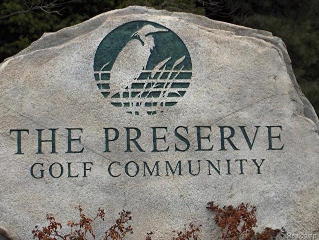 LOT 57 Preserve Drive, Tyrone Twp, MI 48430 (MLS #215043875) :: The Toth Team