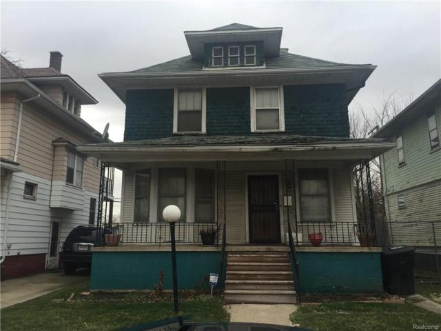 1224 Pingree Street Street, Detroit, MI 48202 (#216023447) :: Duneske Real Estate Advisors