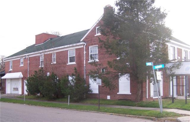 16424 Hamilton Avenue, Highland Park, MI 48203 (MLS #216116941) :: The Toth Team