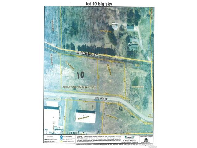 UNIT 10 Big Sky, Groveland Twp, MI 48442 (MLS #217045696) :: The Toth Team