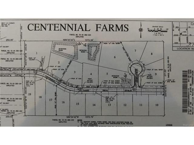 4495 Centennial Farms Drive, Mundy Twp, MI 48473 (#217060329) :: The Buckley Jolley Real Estate Team