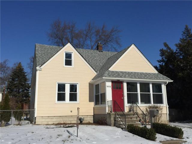 1412 Butternut, Royal Oak, MI 48073 (#217068434) :: Duneske Real Estate Advisors