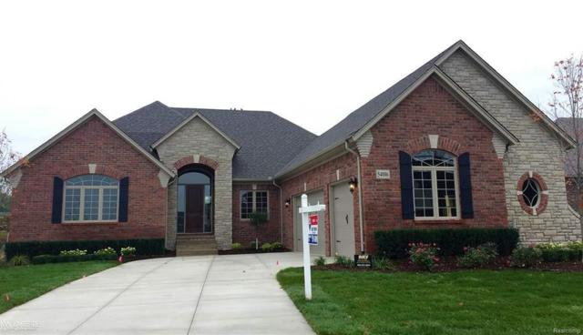 54886 Deadwood Lane, Shelby Twp, MI 48316 (MLS #58031329367) :: The Toth Team