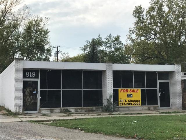 818 Middlebelt Road, Inkster, MI 48141 (#217092080) :: The Buckley Jolley Real Estate Team
