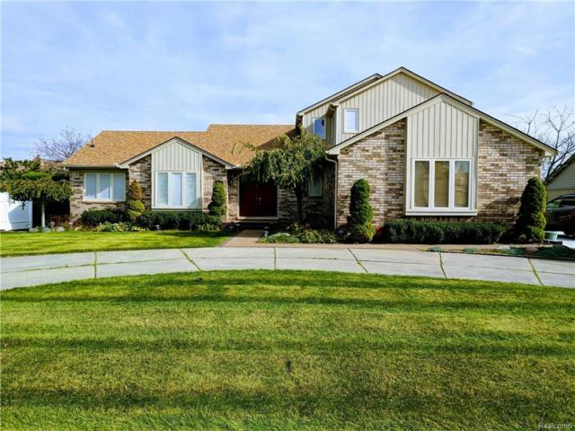 46916 Spruce Drive, Shelby Twp, MI 48315 (MLS #217095417) :: The Toth Team