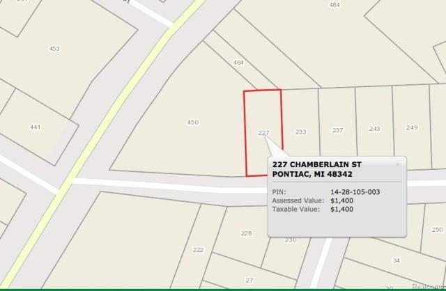 227 Chamberlain Street, Pontiac, MI 48342 (#217102132) :: RE/MAX Classic