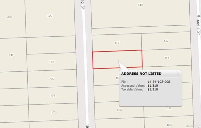 153 Seward Street, Pontiac, MI 48342 (#217102148) :: RE/MAX Nexus