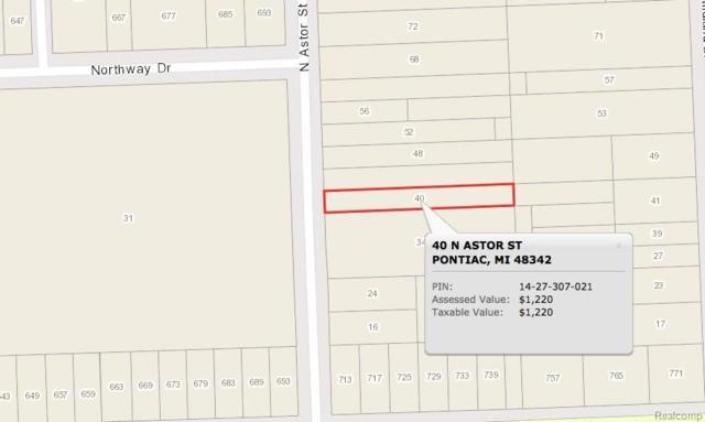 40 N Astor Street, Pontiac, MI 48342 (#217102159) :: The Buckley Jolley Real Estate Team