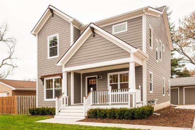 925 E Windemere Avenue, Royal Oak, MI 48073 (#217102738) :: Duneske Real Estate Advisors