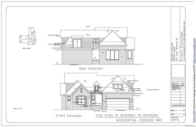 22454 Maple Street, Saint Clair Shores, MI 48081 (#217108307) :: RE/MAX Classic