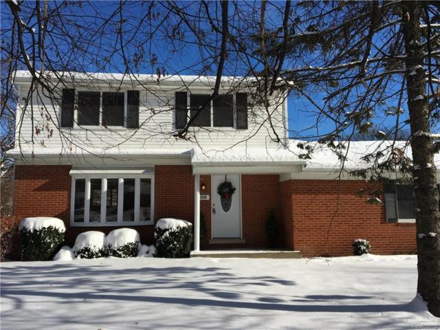 5680 Wright Drive, Troy, MI 48098 (#217108644) :: Simon Thomas Homes