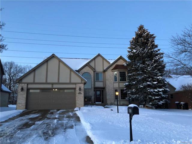 481 Lexington Drive, Rochester Hills, MI 48307 (#217109693) :: Simon Thomas Homes