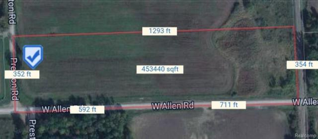 000 Preston Road, Cohoctah Twp, MI 48855 (#217110174) :: RE/MAX Nexus