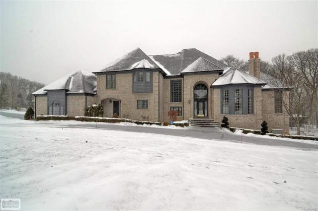 1590 Scenic Hollow Drive, Rochester Hills, MI 48306 (#58031337012) :: Duneske Real Estate Advisors