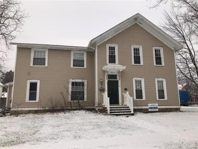 641 N Washington Street, Lapeer, MI 48446 (#217112363) :: Simon Thomas Homes