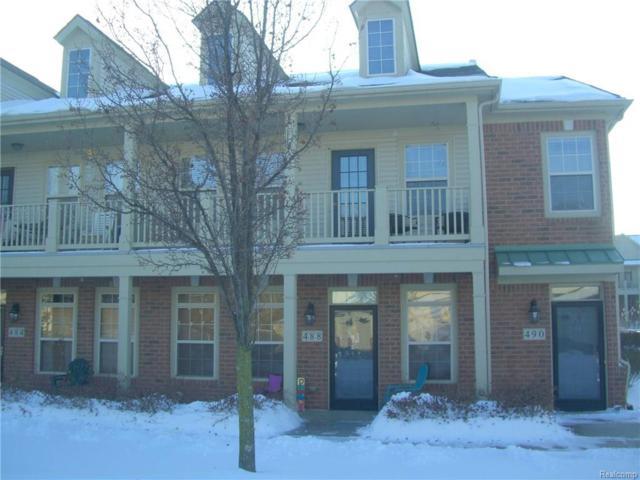 490 Village Drive #205, Walled Lake, MI 48390 (#218002474) :: RE/MAX Classic