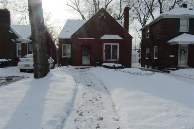 3549 W Outer Drive, Detroit, MI 48221 (MLS #218002495) :: The Toth Team