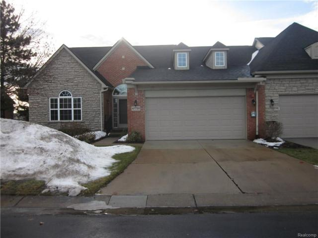 47739 Vistas Circle Drive S #84, Canton Twp, MI 48188 (#218002776) :: RE/MAX Classic