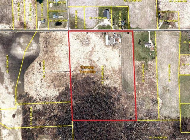 0 Hayner Road, Conway, MI 48836 (#543253875) :: Metro Detroit Realty Team   eXp Realty LLC