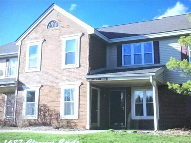 1687 Clemens Circle, Rochester Hills, MI 48307 (#218003837) :: RE/MAX Classic