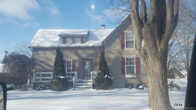 109 N Glassford Street, Capac Vlg, MI 48014 (MLS #218004313) :: The Toth Team