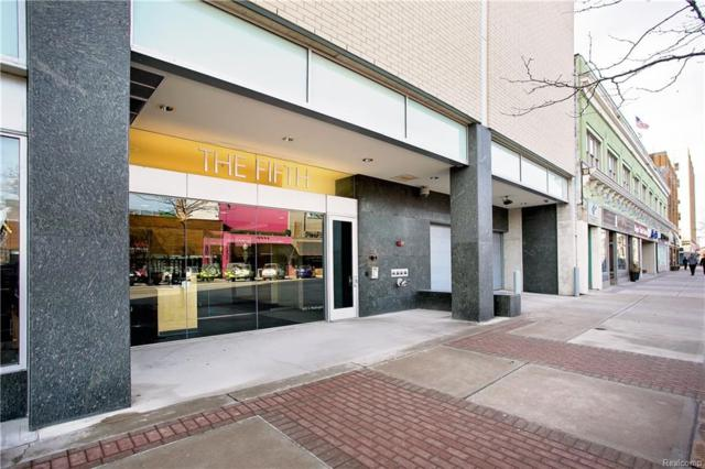 432 S Washington Avenue #1605, Royal Oak, MI 48067 (#218006030) :: RE/MAX Classic