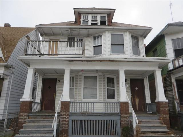 5424 Iroquois Street, Detroit, MI 48213 (MLS #218006954) :: The Toth Team