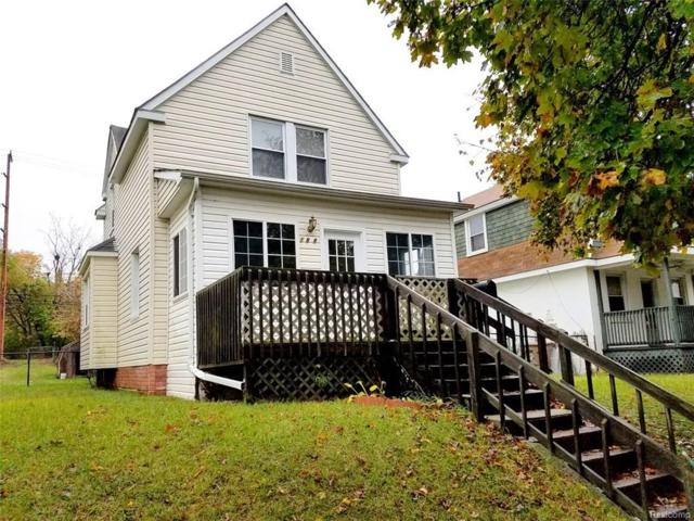188 E Rundell Street, Pontiac, MI 48342 (#218006967) :: The Buckley Jolley Real Estate Team
